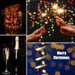 Collage of Christmas time — Foto Stock