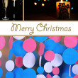 Collage of Christmas time — Foto de Stock