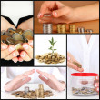 Finance concept collage — Stock Photo #35558485
