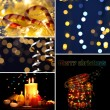 Collage of Christmas time — Stock Photo #35689719