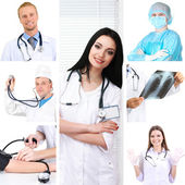 Medical concepts collage — Stock Photo