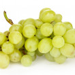 Ripe sweet grapes isolated on white — Stock Photo #35693415