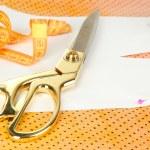 Sewing tools fashion design — Stock Photo #35696859