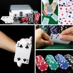 Casino collage — Stock Photo #35798549