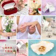 Wedding collage — Stock Photo #35798691