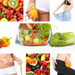 Diet collage — Stock Photo #35798797