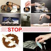 Drogen drogenhandel konzept — Stockfoto