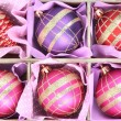 Beautiful packaged Christmas toys, close up — ストック写真 #35826875