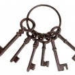 Bunch of old keys — Stock Photo #35833315