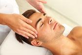 Man having massage — Stock Photo