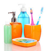 Bathroom set — Stock Photo