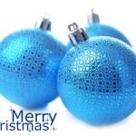 Christmas balls, isolated on white — Stock Photo #35946371