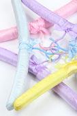 Beautiful hangers close up — Stockfoto
