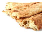 Pita breads isolated on white — Stock Photo