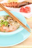 Chinesische suppe — Stockfoto