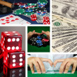 Casino collage — Stock Photo #36483963