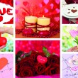 Stock Photo: Valentine's Day collage