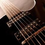 Electric guitar , close up — Stock Photo #36487285