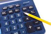 Digital calculator close-up — Foto de Stock