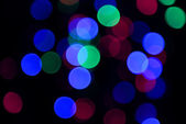Festive background of lights — Stock fotografie