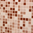 Mosaic tile white and beige color close-up background — Stock Photo #36495263