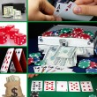 Casino collage — Stock Photo #36562895