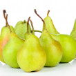 Stock Photo: Pears isolated on white