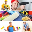 Repair project collage — Stock Photo #36856159