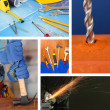Repair project collage — Stock Photo