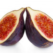 Ripe figs isolated on white — Stock Photo #36863979