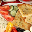 Traditional Turkish breakfast close up — Stock Photo #36864661