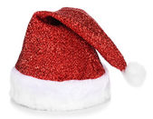 Christmas hat isolated on white — Stock Photo