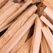Stack of firewood close up — Foto de Stock