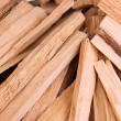 Stack of firewood close up — Lizenzfreies Foto