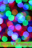 Festive background of lights — Foto Stock