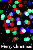 Festive background of lights — 图库照片