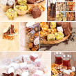 Tasty oriental sweets collage — Stock Photo #37163257