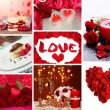 Valentine's Day collage — Stock Photo