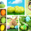Collage of colorful Easter — Stock Photo #37163567