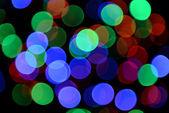 Festive background of lights — Stock Photo