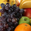 Stock Photo: Composition of different fruits close up