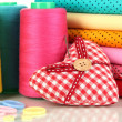 Cloth fabrics close up — Stock Photo #37294123