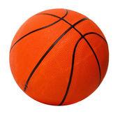 Basketball ball isolated on white — Stock Photo