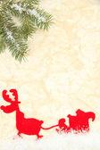 Schöne weihnachten hintergrund — Stockfoto