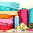Cloth fabrics close up — Stock Photo #37360833
