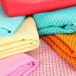 Cloth fabrics close up — Stock Photo #37360853
