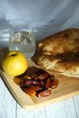 Conceptual photo of Ramadan table — Stock Photo