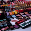 Lot of different cosmetics close-up — Stock Photo #37512861