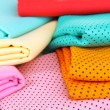 Cloth fabrics close up — Stock Photo #37515143