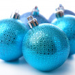 Christmas balls, isolated on white — Stock Photo #37516811